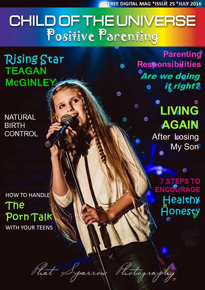 Child of The Universe Positive Parenting Digital Mag July 2016